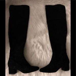 "Sam Edelman""Elina""Over the Knee Suede Boot,Size-8"